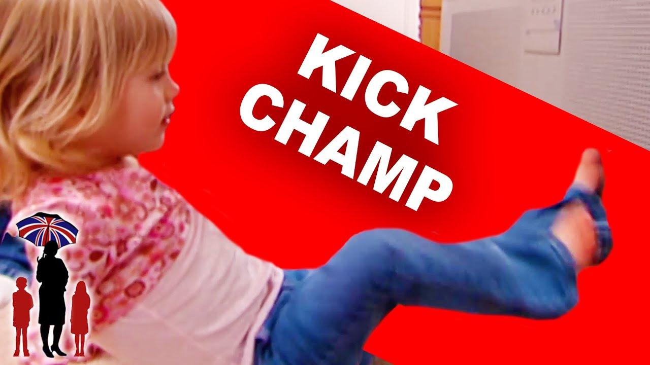 Girl Kicks TV | Kids Tantrum | Supernanny