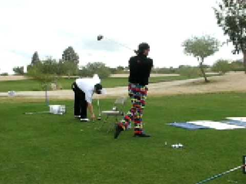 Mitch McDowell Winning The ALDA Pro Winter Warm-Up Hitting Krank Golf El Diablo Driver