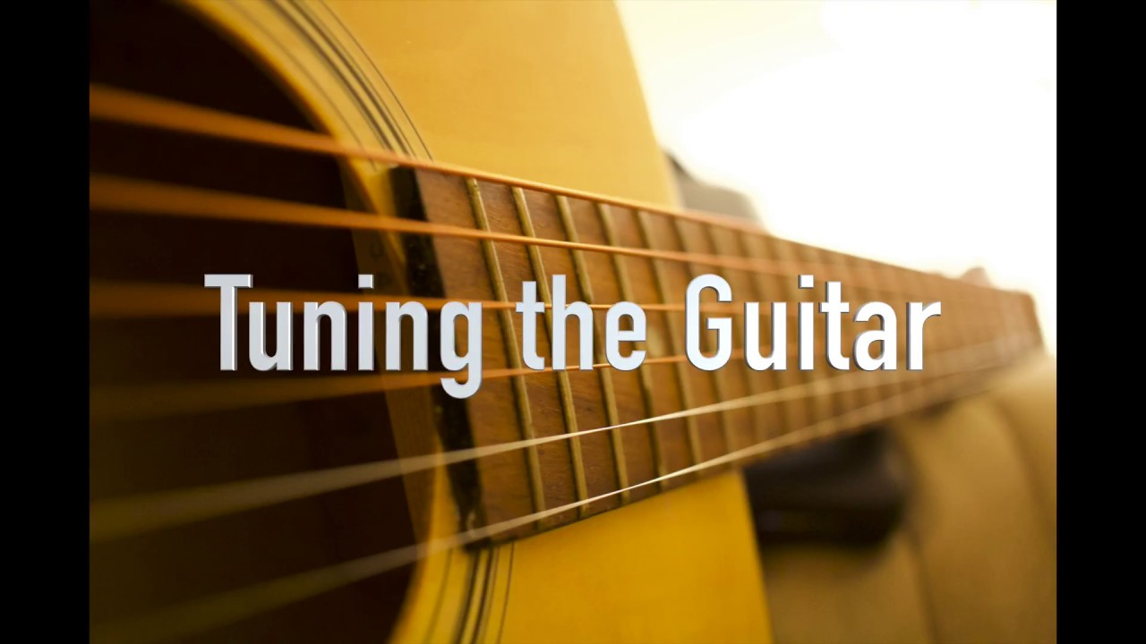 tuning the guitar strings youtube. Black Bedroom Furniture Sets. Home Design Ideas