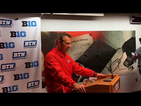 Urban Meyer press conference after Ohio State's win at Nebraska
