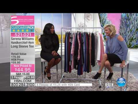 HSN | SERENA WILLIAMS Signature Statement Fashions 03.01.2017 - 05 PM
