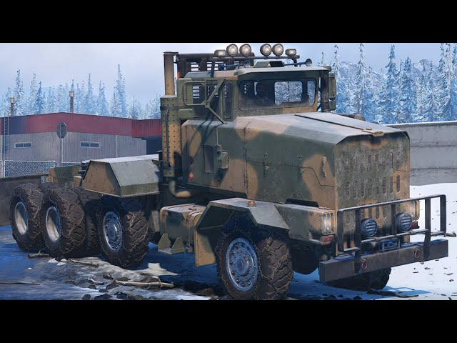 SnowRunner How To Get The Derry LongHorn 3194 | Pluck The Stuck Truck