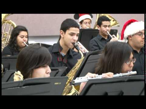 Harlingen High School Band Christmas Songs