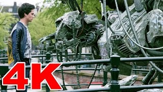 4K Short Film Tears of Steel - Sci-Fi Streaming Blender Movie H265