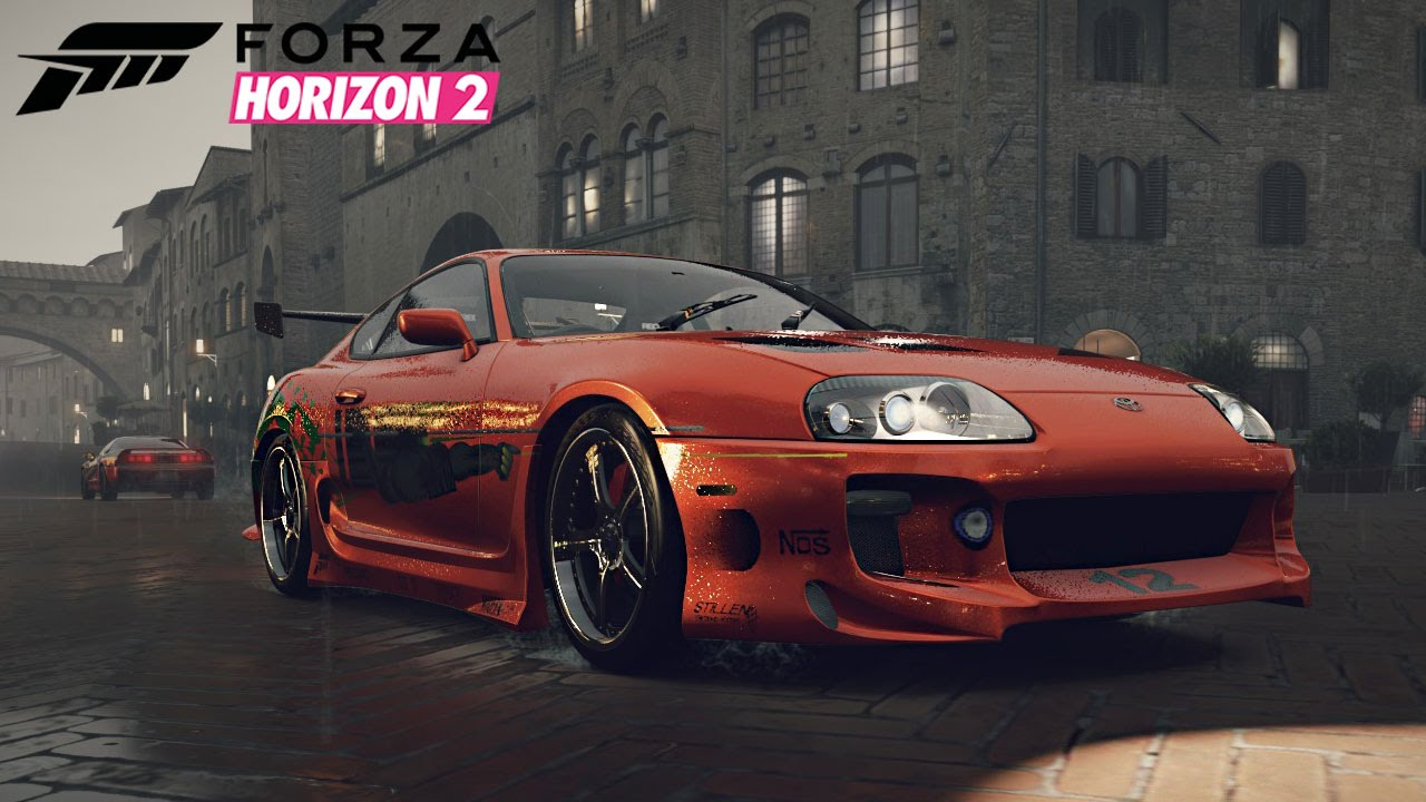 forza horizon 2 toyota supra youtube. Black Bedroom Furniture Sets. Home Design Ideas