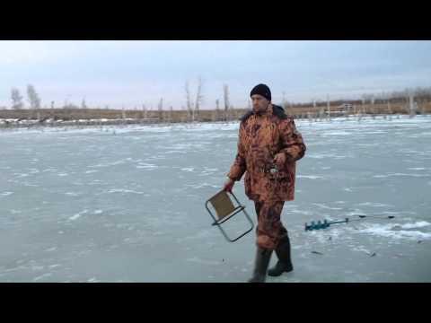 видео рыбалка на озере треустан