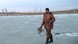 Рыбалка озеро Треустан 10.042015.