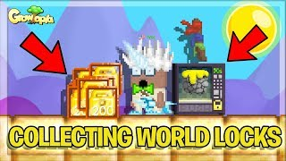 COLLECTING WORLD LOCKS FROM VEND (BIG PROFIT)  | Growtopia