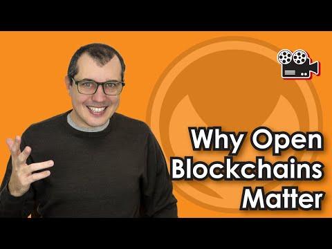 Why Open Blockchains Matter