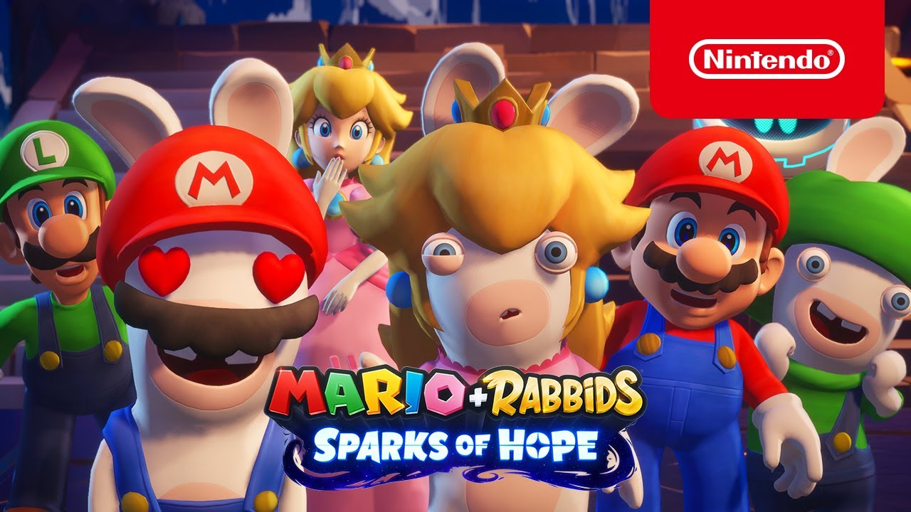 Mario + Rabbids Sparks Of Hope - Primer vistazo al gameplay (Nintendo Switch)