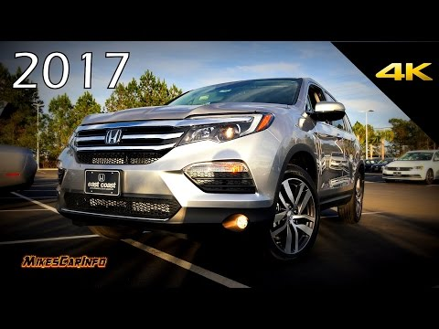2017 Honda Pilot Touring - Detailed Look in 4K