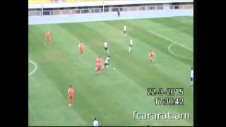Ararat - Mika - 0:1 (22.03.2015) (FC Ararat goal-scoring opportunities)