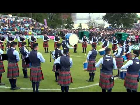 World Pipe Band Championships 2013 Medley - Field Marshal Montgomery