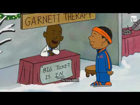 "Thumbnail: Bleacher Report Parodies Charlie Brown with ""A Carmelo Anthony Christmas"""