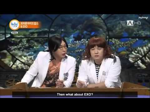 Eng Sub 130826 Beatles Code EXO and Brown Eyed Girls Part 1