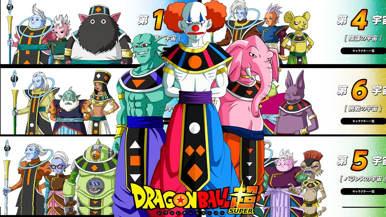 Dragon Ball Super Universe Rankings All Angels Names Revealed God Of Destruction Bios