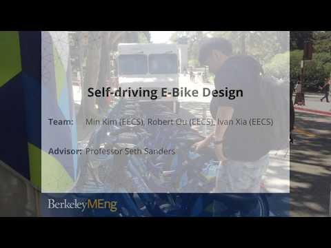 Fung Institute, Master of Engineering Capstone Project Pitch for Self-Driving E-Bike Design