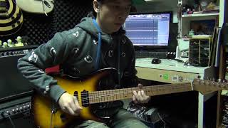 Eagles Hotel California guitar solo cover by Eric Lo with tab info..mp3