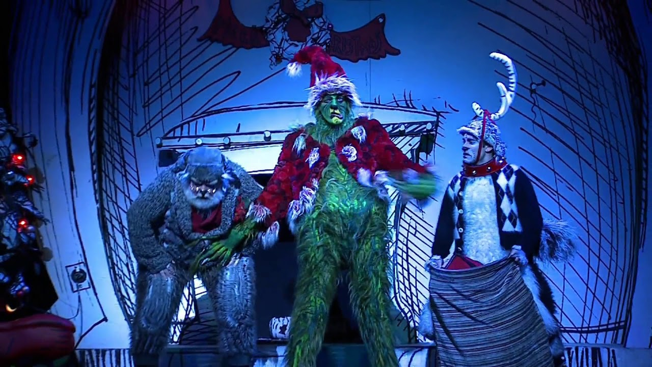 How The Grinch Stole Christmas Musical.Dr Seuss How The Grinch Stole Christmas The Musical Trailer