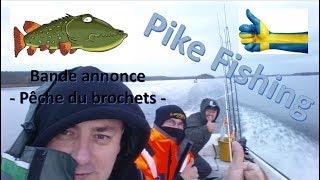 Sejour en Suede, peche-sur le lac de malaren