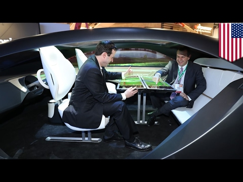 Future car technology: Panasonic unveils autonomous car cabin with augmented reality - TomoNews