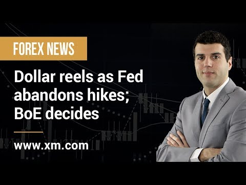 Forex News: 21/03/2019 - Dollar reels as Fed abandons hikes; BoE decides