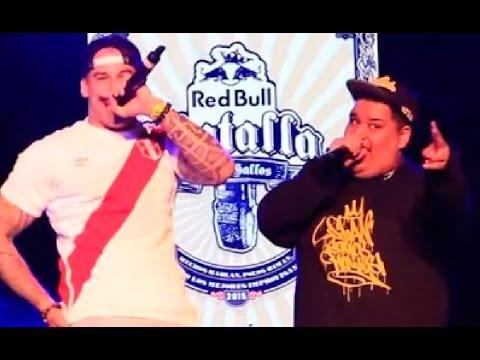 Sony vs Invert Freestyle (COMPLETO) - Red Bull Batalla de los Gallos Perú 2015