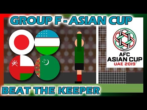 Beat The Keeper - 2019 AFC Asian Cup Group F Rerun - Marble Race