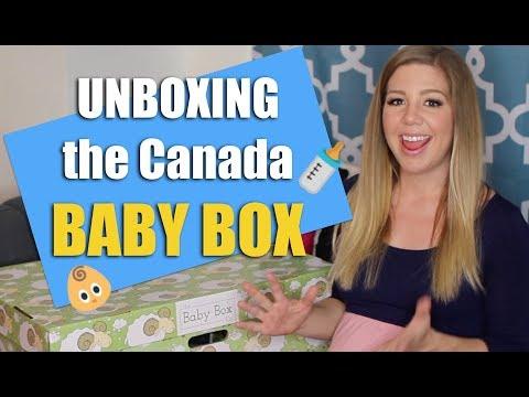 UNBOXING The Canada Baby Box | Baby Box University