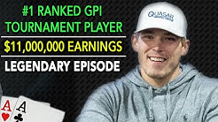 Alex Foxen Shares SECRETS To Becoming #1 Ranked Poker Tournament Player