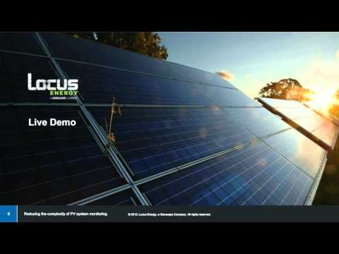 Reducing the Complexity of PV System Monitoring | Locus Energy