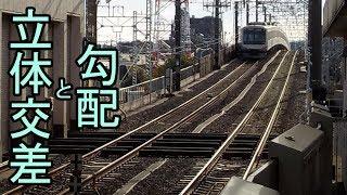 迷列車で行こう【設備編】立体交差と勾配の関係