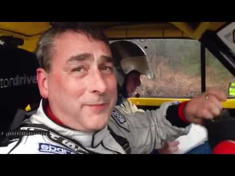 Robert Dennis at the end of Rallye Sunseeker