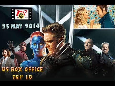 US BOX OFFICE TOP 10 (25 May 2014)