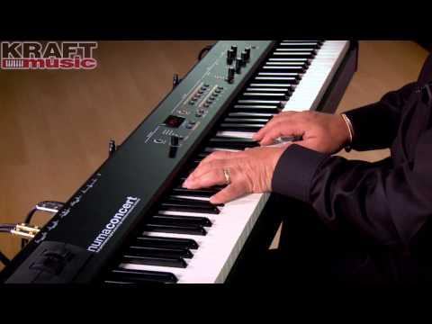 Kraft Music - Studiologic Numa Concert Demo with Chris Martirano