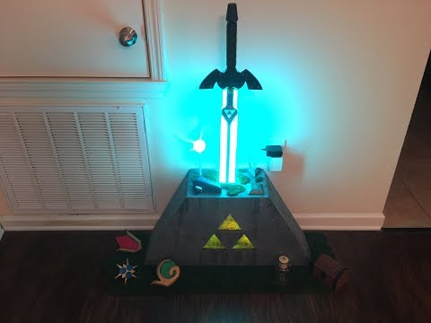 Master Sword & Pedestal of Time