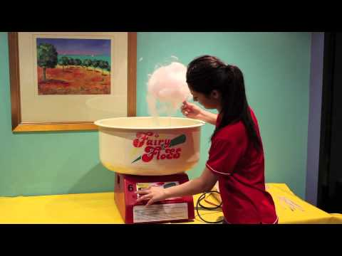 How to use a Fairy Floss machine
