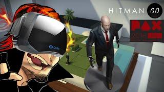 I TRY HITMAN GO VR! (Oculus Rift)