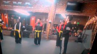 Kevin is going for yellow belt xma north hollywood ca