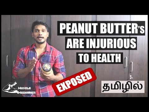 watch-this-video-before-buying-peanut-butter-from-shops-|-asitis-peanut-butter-review-|-தமிழில்