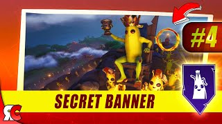 Fortnite | WEEK 4 Secret Banner Location (Season 8 Battlestar/Banner Discovery Loading Screens)