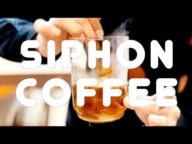 siphon coffee〜How to make Japanese style coffee〜