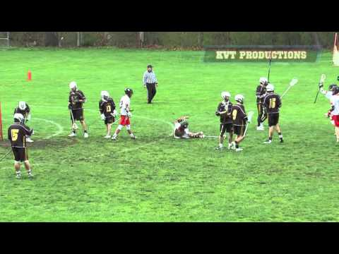 Sewickley Academy Boys Lacrosse vs Quaker Valley Highlight Video 4-7-16