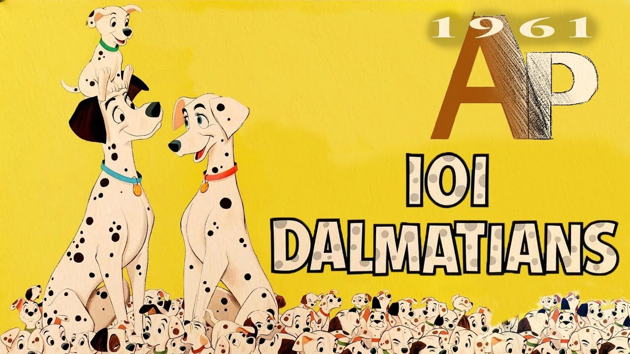 One Hundred And One Dalmatians 1961 Animation Pilgrimage Youtube
