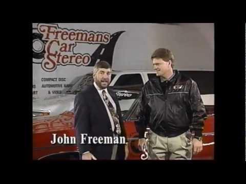 Freeman's Car Stereo THROWBACK Commercial Circa 1995
