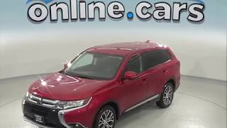 C97436TA Used 2017 Mitsubishi Outlander 4WD Red SUV Test Drive, Review, For Sale