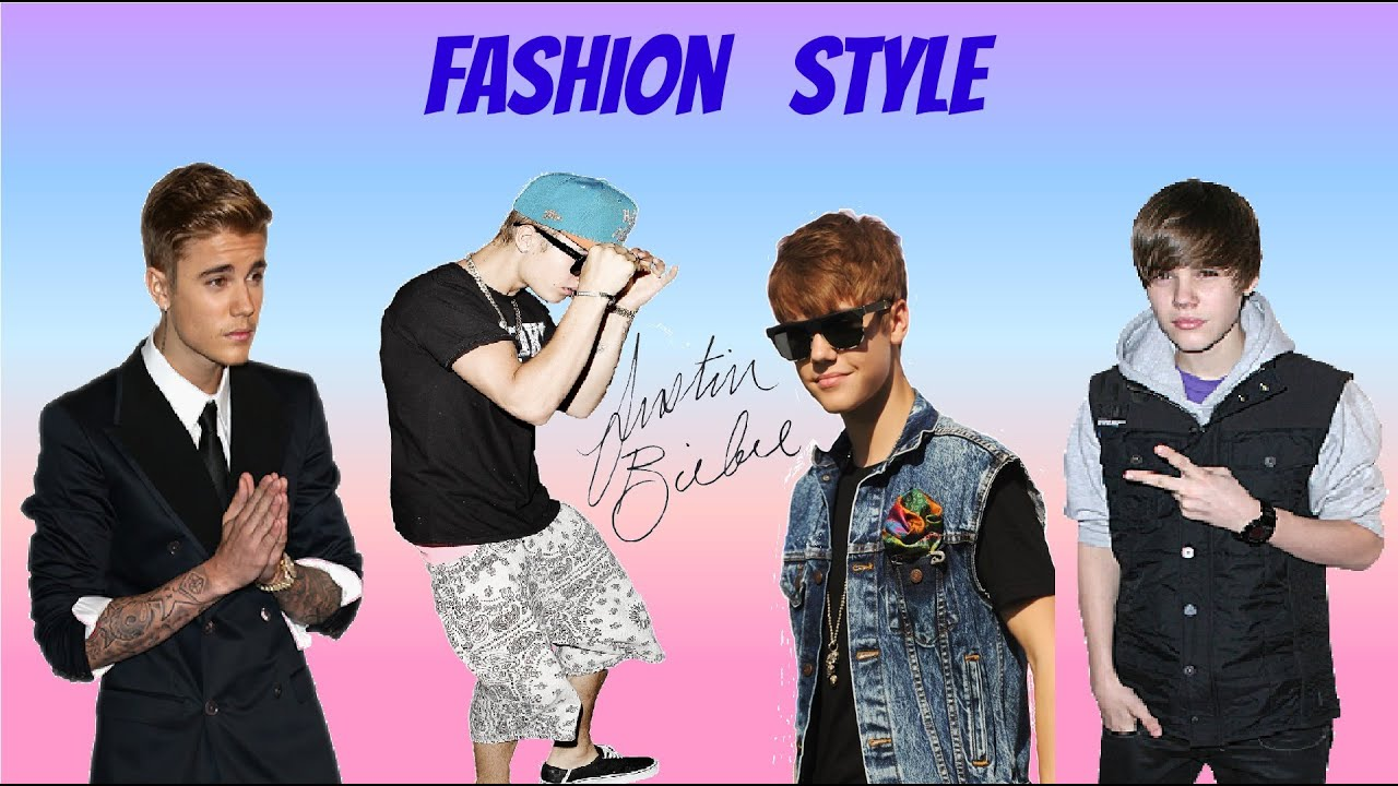 Justin Bieber Fashion Style 2009 2014 Youtube