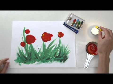 Pintemos Con Cera Fundida Youtube