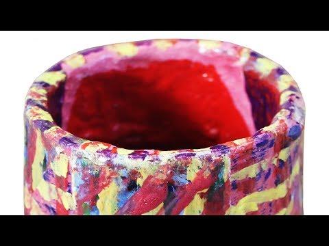 How To Make A Papier Mache Pot YouTube