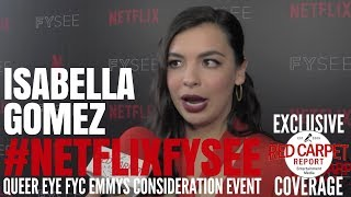 "Isabella Gomez interviewed at the ""One Day at a Time"" Netflix FYSee Event #NetflixFYSee #ODAAT"